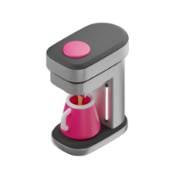 coffee making machine 3d icon small