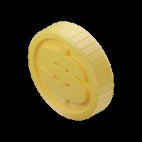 coin 3d icon small