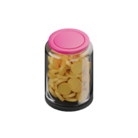 coin bottle 3d icon mall