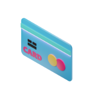 credit card 3d icon small