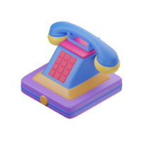 home phone 3d icon small