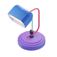 lamp 3d icon small