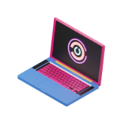 laptop 3d icon 2 small