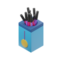 marker holder 3d icon small