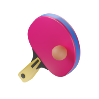 pinpong racket 3d icon small