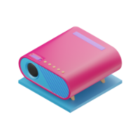 projector 3d icon small