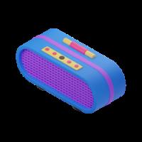 radio 3d icon small