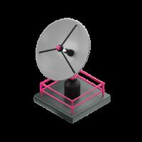 satellite antenna 3d icon small