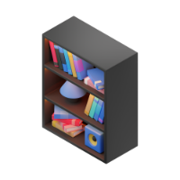 shelving 3d icon small