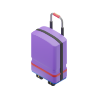 suitcase 3d icon small