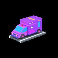 ambulance 3d icon small