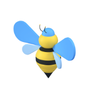 bee 3d icon small