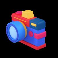 camera 2 3d icon small