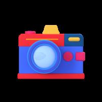camera 3d icon-2 small front