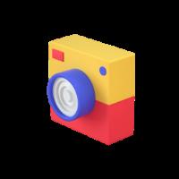 camera 3d icon 3 small