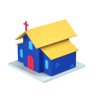 church 3d icon small