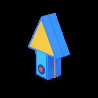 clock 3d icon small