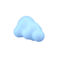 cloud 3d icon small