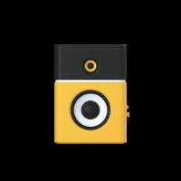 cornet 3d icon small front