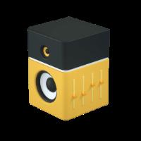 cornet 3d icon small