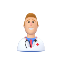 doctor 3d icon small front