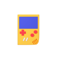 gameboy 3d icon small front