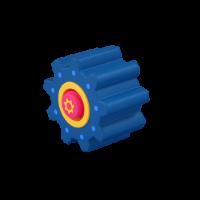 gear 3d icon small