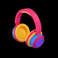 headphones 3d icon small
