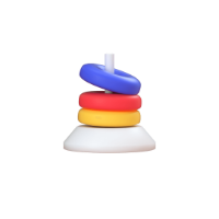 horseshoe game 3d icon small front
