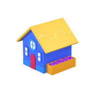 house 3d icon small