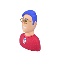 journalist 3d icon small