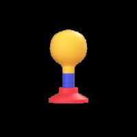 klaxon 3d icon small front