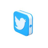 lago twitter 3d icon small