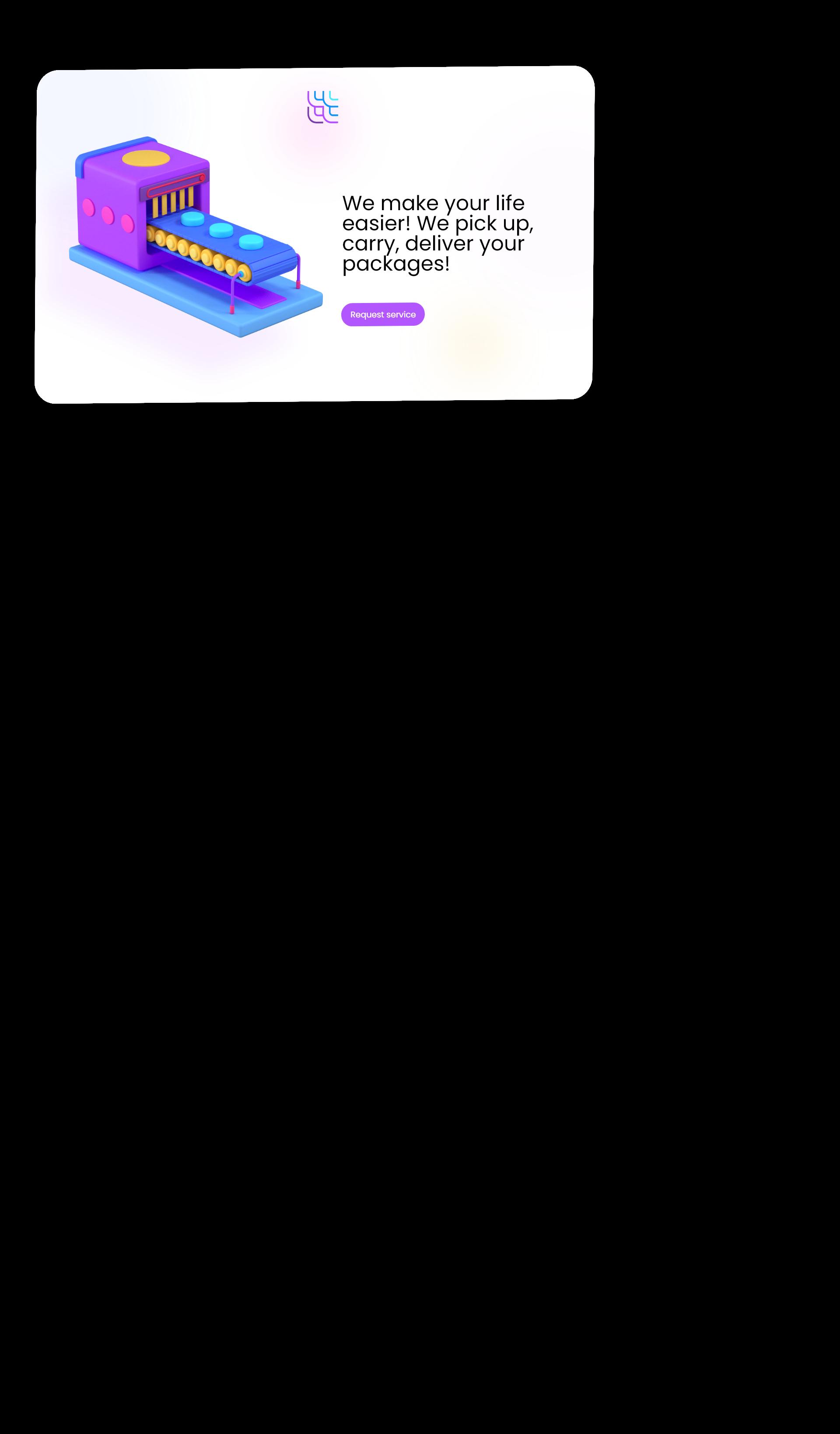 landing application 3d icon set 1