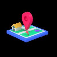 location 3d icon small