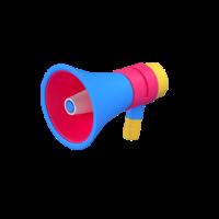 megaphone 3d icon small