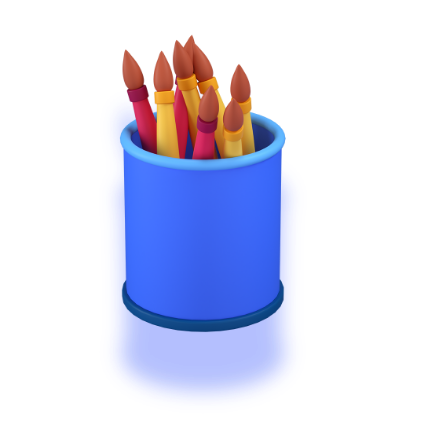 pencilholders 3d icon big