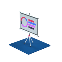 presentation 3d icon small