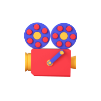 projector 3d icon small front