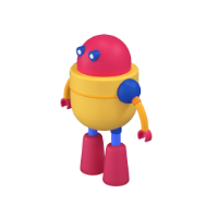 robot 3d icon small