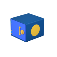 strong box 3d icon small
