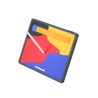 tablet 3d icon small