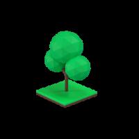 tree 3d icon small