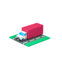 truck 3d icon small