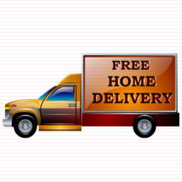 Free Home Delivery Icon Example of 256 x 256 pixels