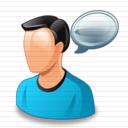 كل الايقونات الخاصة بالمنتديات والمواقع Chat_icon