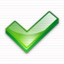 كل الايقونات الخاصة بالمنتديات والمواقع Check_mark_icon