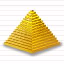 كل الايقونات الخاصة بالمنتديات والمواقع Pyramid_icon