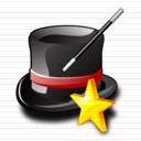 كل الايقونات الخاصة بالمنتديات والمواقع Wizard_icon
