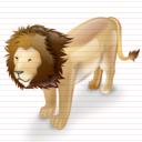 clipart gif lion astro